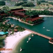 Polynesian Village Pool and Dock