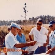 Walt Surveying WDW Property