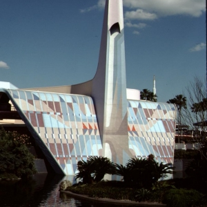 Tomorrowland Entrance Spire (Fountains Off)