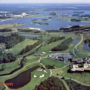 Monorail Loop and Golf Course