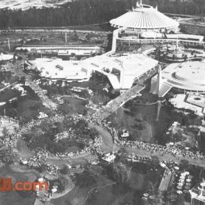 Aerial of Magic Kingdom