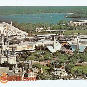 Fantasyland and Tomorrowland