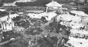 Aerial of Magic Kingdom