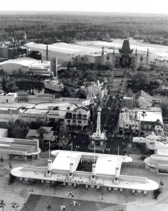 Aerial of MGM-Studios