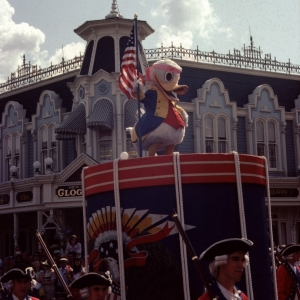 Donald on Parade August 1982