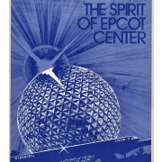 The Spirit of EPCOT Center Book