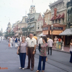 Main Street USA 1970s