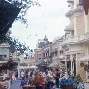 Flower Market on West Center Street 1970s