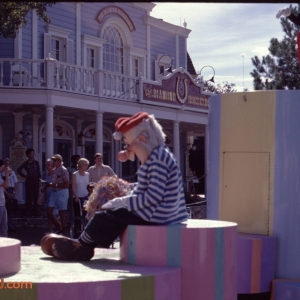 Mr. Smee in Mickey Mouses 50th Birthday Parade