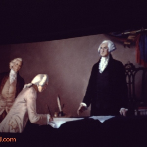 Hall of Presidents Declaration of Independence Signing