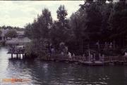 Tom Sawyer Island Barrel Bridge
