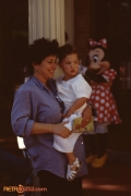 Disney MGM: Child and Minnie Mouse