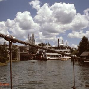 Tom Sawyer Island Bridge Aug 78