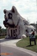 Bulldog Bakery Set on Backlot in 1991