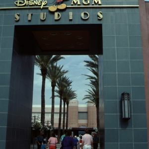 Entrance to Animation Courtyard