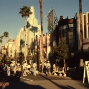 Hollywood Blvd. Street Scene in December 1989
