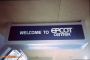 EPCOT Welcome Sign