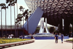 EPCOT Center Entrance