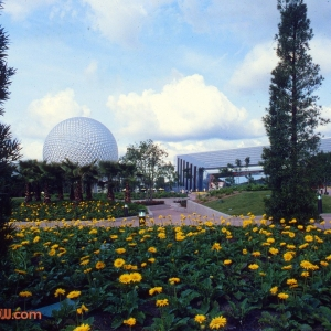 Spaceship Earth & Universe of Energy 1982