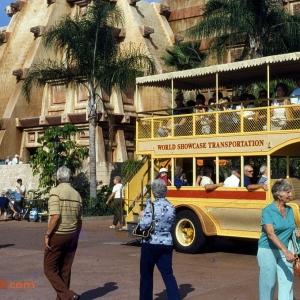 World showcase Transportation 1982