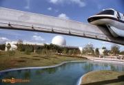 Monorail Spaceship Earth 1982