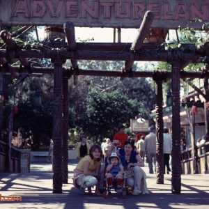 Adventureland Sign Feb 1981
