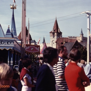 Fantasyland Crowds Feb 1981