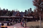 Frontierland Station Feb 1981