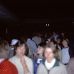 Space Mountain Queue 1979