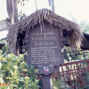 Swiss Family Robinson Sign 1979