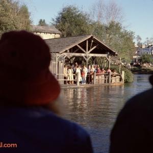 Tom Sawyer Island Boat Dock 1979