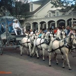 Cinderella Tencennial Parade coach 1982