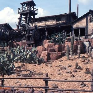 Disneyworld Thunder Moutain Railroad Disneyworld 1982