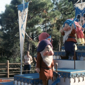 Dwarfs In Tencennial Parade 1982