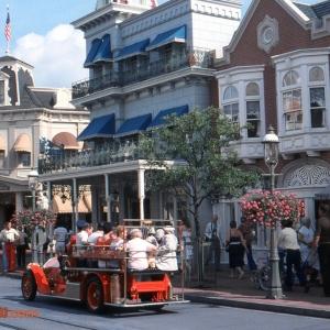 Main Street USA Firetruck 1982