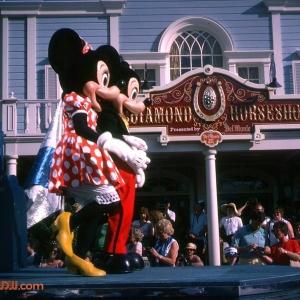 Mickey Minnie Tencennial Parade 1982
