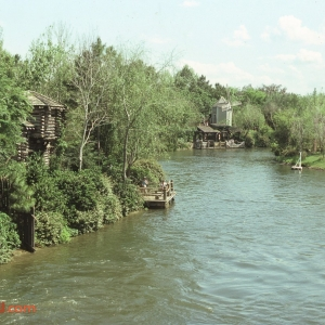 Rivers of America Fort Sam Clemens 1982
