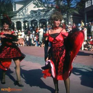 Saloon Girls Tencennial Parade 1982
