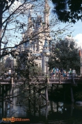 Cinderella Castle & Bridge 1982