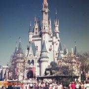 Cinderella Castle circa 1973