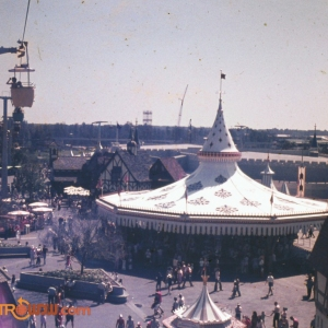 Skyway over Fantasyland