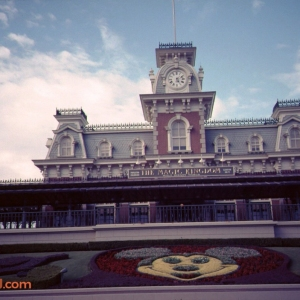 Main Street U.S.A. Train Station
