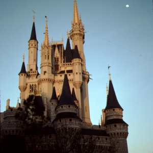 Castle sunset 1991