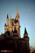 Castle sunset 1991