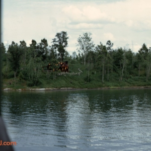 Burning Cabin May 72
