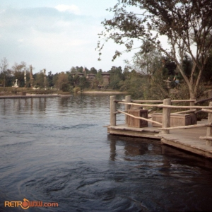 Tom Sawyer Island Dock Nov 73