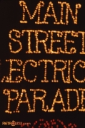 Close-up of the Main Street Electrical Parade float