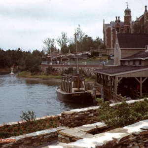 Keel Boat and Haunted Mansion