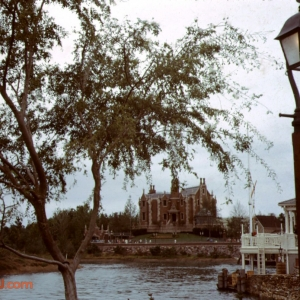 Libery Square looking towards the Haunted Mansion