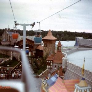 Fantasyland from Skyway
